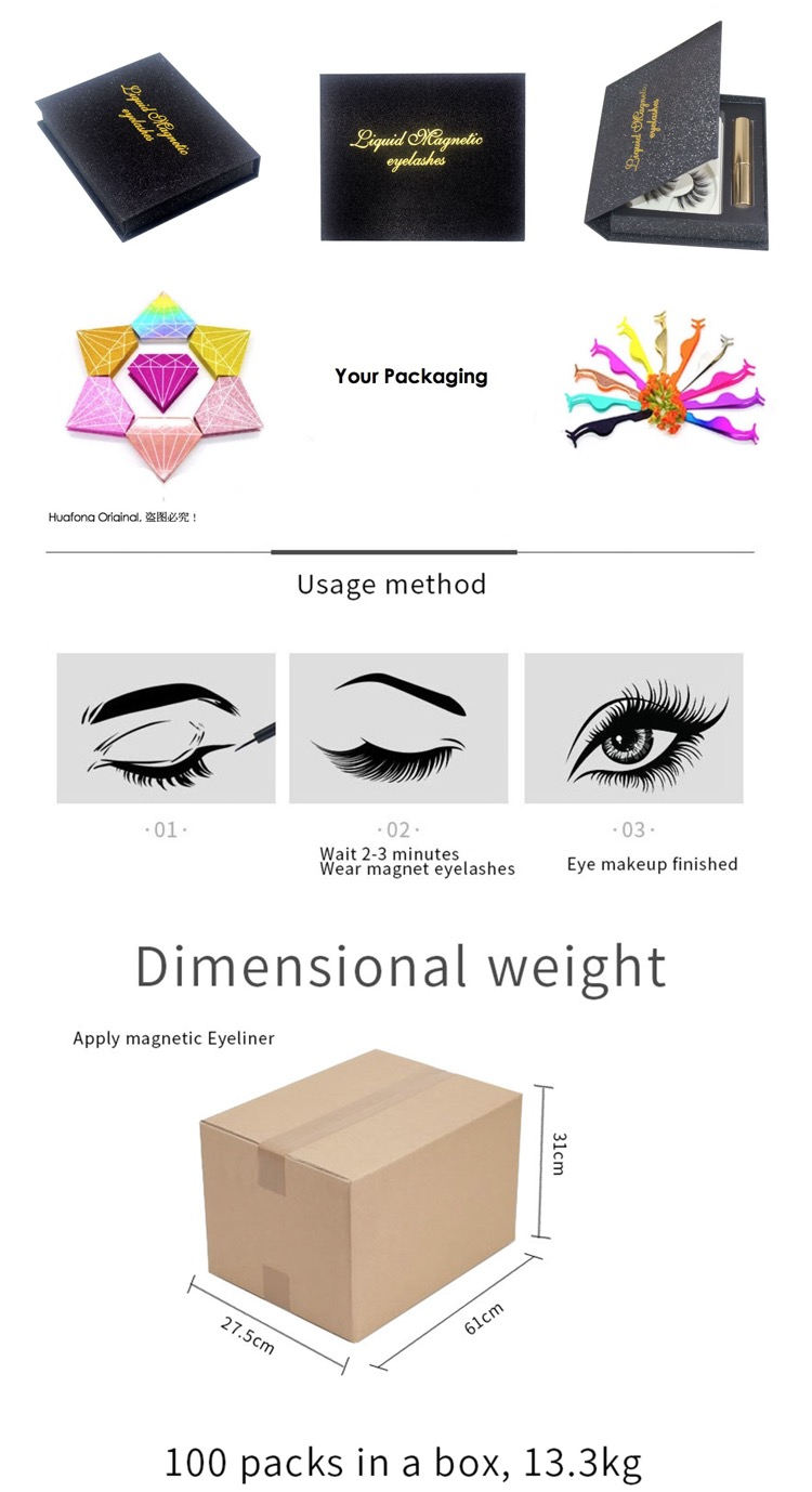 Professional Magnetic Eyeliner With CE Certificate