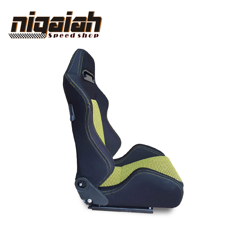 Newest Hot Selling Design Racing style Universal PU Leather Bucket seat--MQ