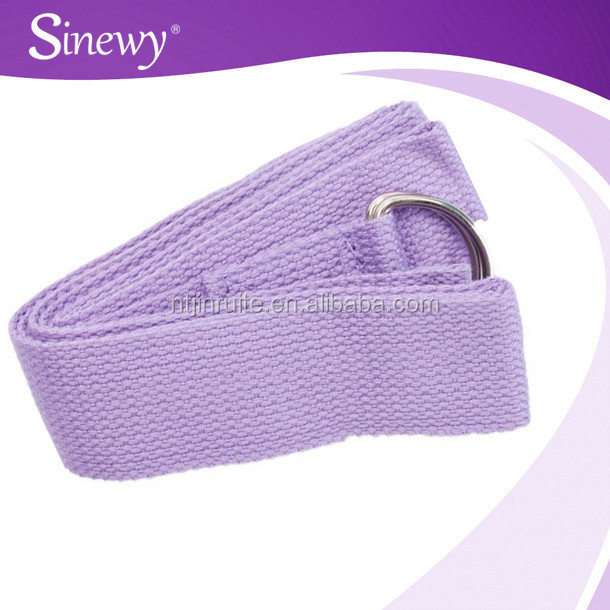 cheaper Yoga Strap Stretch Belt D-ring Gym Exercise Fitness Rope 1.7 meters yoga stretch belt