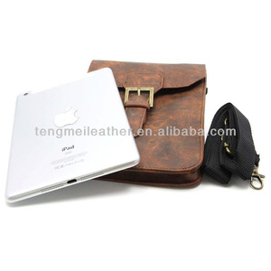 Leather Case With Hand Strap For Apple iPad 2 3 4 ,Protect Carry Case Shoulder Bag For iPad 2 3 4