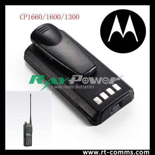 Rechargeable digital radio battery pack for motorola CP1660