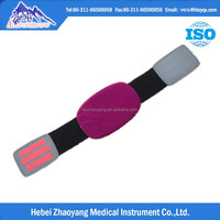 Orthopedic stretch leather back support belt for summer and winter with steel plates