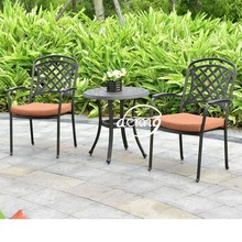 Aluminum casting sala set outdoor furniture