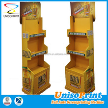 Point of purchase assemble cardboard corrugated pop display