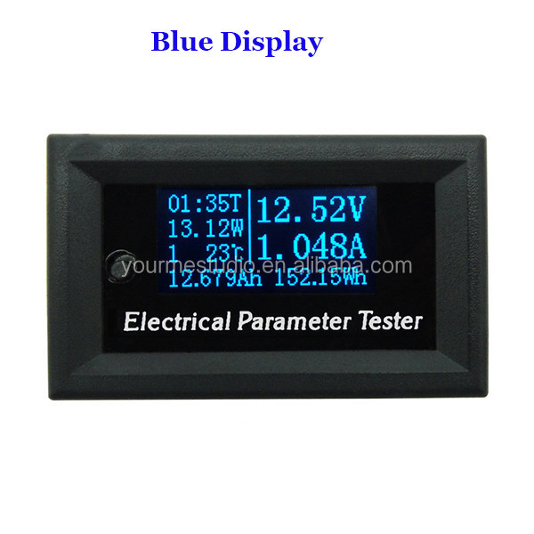 New Arrival Voltage Currrent Power Capacity Time Temperature LCD Tester