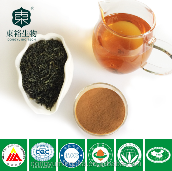 Pure natural green tea extract polyphenol 98% catachin70% EGCG50% for capsule