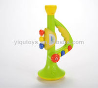 YQ8802 BO PLASTIC TOY MUSICAL TRUMPET