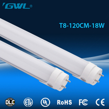 Solid and double pins low price 18W 1200mm 4ft LED tube T8 light AC100-277V 8ft led indoor lighting