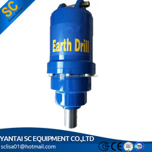 excavator earth auger machine for foundation work