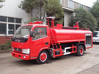 Dongfeng fire fighting tanker truck