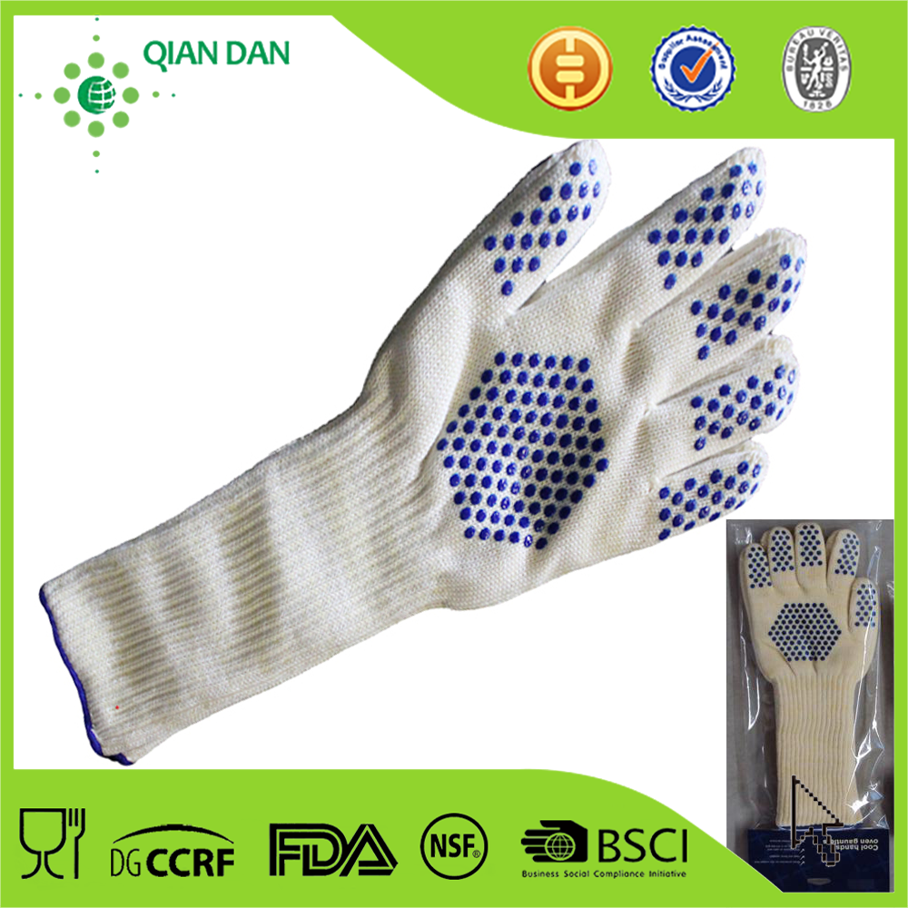 Barbecue Glove/Silicone Oven Glove/Silicone Cotton Glove