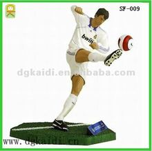 2013 Hot sale soccer players toys /soft pvc soccer player figures