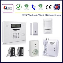 CP-11A wireless alarm 8 zone pstn, security equipment