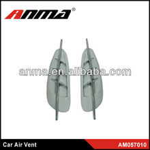 car decorate air flow car fender vents