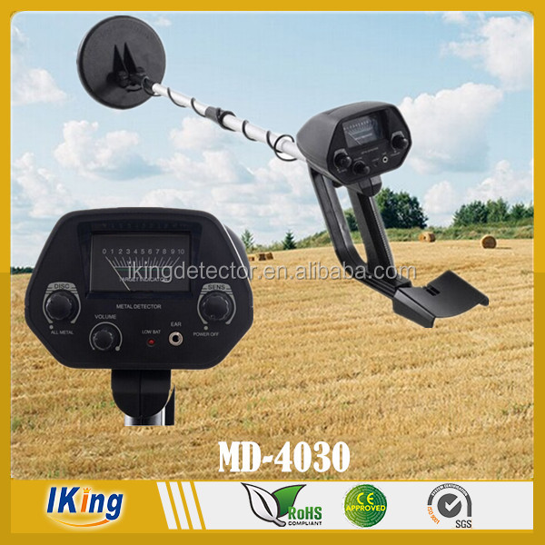 MD-4030 Underground Waterproof Metal Detector Deep Sensitive Search Gold Digger Hunter 6.5""