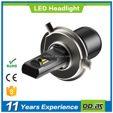 auto parts factory supply wholesale F7 series h4 high power headlamp bulb 24w 3200lm car led headlight