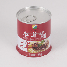 wholesale supplier Abalone sauce matsutake hermetically sealed tin can