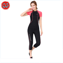 Suit Swimming Super-Stretch Neoprene Smooth Skin Wetsuit