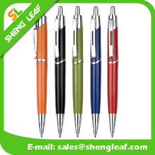 2015 cheap hot selling logo printed advertising cheap ballpoint plastic pen