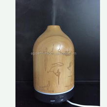 Water Bottle Ultrasonic Diffuser / USB Electric Essential Oil Diffuser Wood