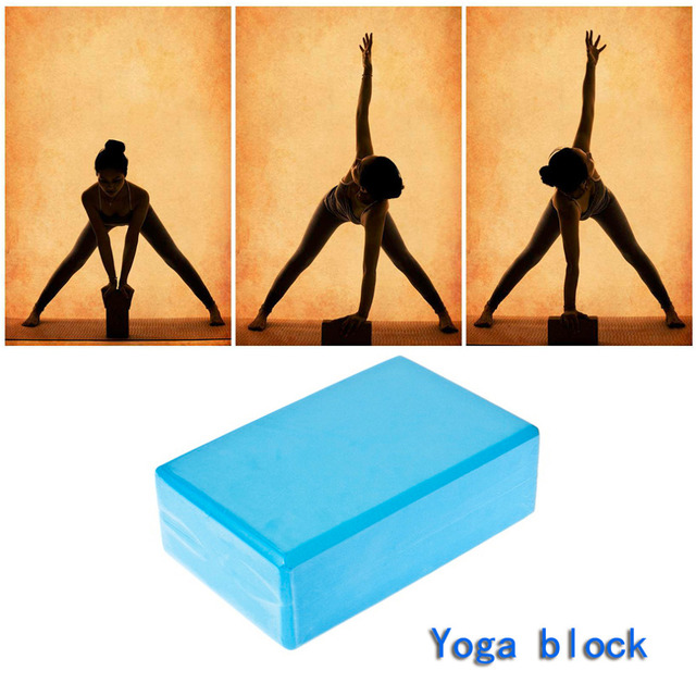 foam and EVA 1PC Practice Fitness Gym Sport Tool Yoga Block Brick Foaming Foam Home Exercise 23*15*8cm Wholesale