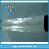 clear inkjet transparent pet coated printing film in roll for europe