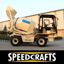 High Quality Self Loading Concrete Mixer Truck Used for Concrete Mixing