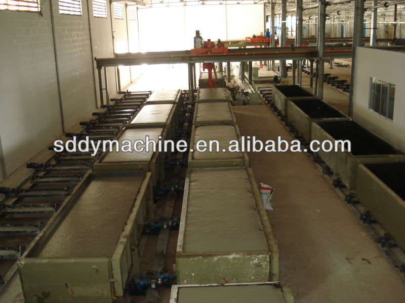 Aerated Autoclaved Concrete Block Machine Lime / Sand / Flyash AAC Block Production Line DONGYUE