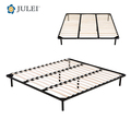 Foshan Factory Knocked Down Queen Size Platform Metal Bed Frame