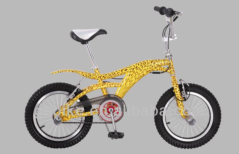16 inch freestyle Leopard grain bike bicycle,new design fashion BMX cycling