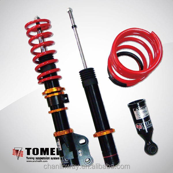 Telescopic adjustable Shock Absorber for VW R32