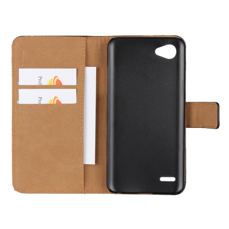 Free Samples Mobile Phone Accessories Coque Funda Leather Wallet Phone Cover For LG Q6 Case