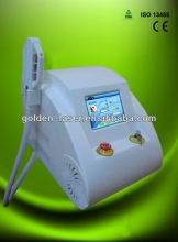 www.golden-laser.org/2013 New style E-light+IPL+RF machine ultrasonic beauty equipment radium