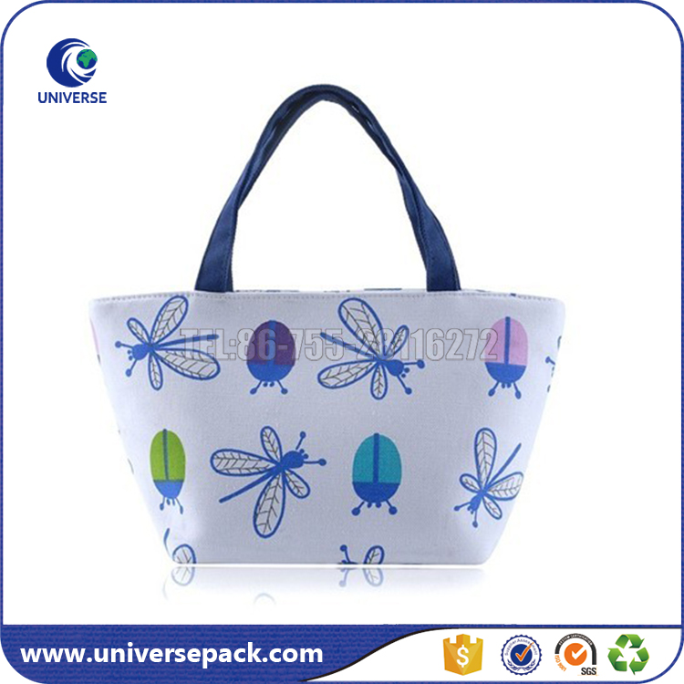 Reusable Customized beauty canvas bags for shopping from China Factory