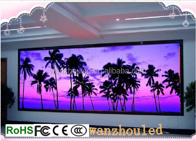 big viewing angle indoor HD P4 rgb SMD LED xxx music video display//p4p5p6 led display screen