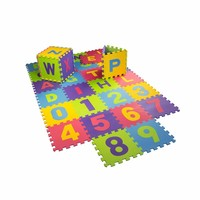 Melors Children educational EVA Alphabet Mat baby number puzzle mat alphabet puzzle mat