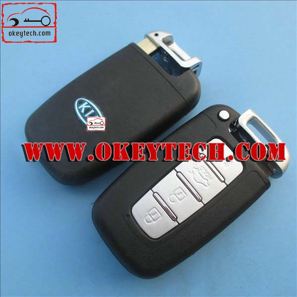 Okeytech kia keys Kia 4 buttons smart remote key shell for kia smart key