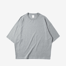 Loose Fit Drop Shoulder <strong>Men</strong> Sport Cotton Round Neck T Shirt