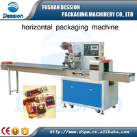 Best selling dried meat automatic horizontal packaging wrapping machine