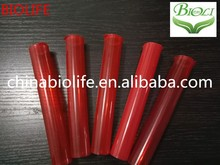 Red pop vials and J tube OEM available