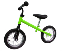 Nice design indoor cycling bike with helmet for 3 to 6 years old kids