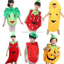 Factory hot sale vegetable costumes for kids