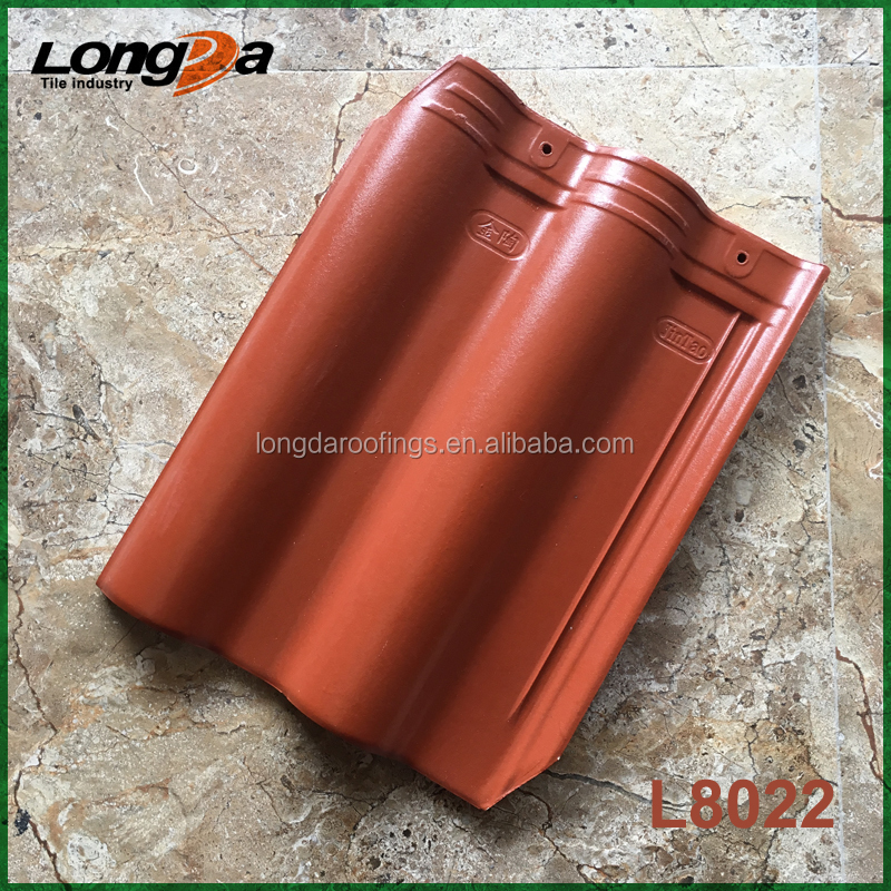 Classic cheap water proof tamper proof durable coating Chinese roof tiles