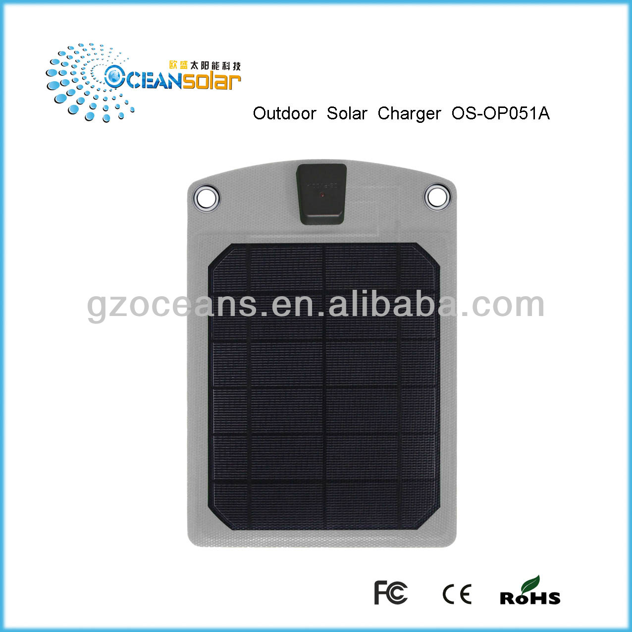 OS-OP051A New solar panel for solar fan energy supply charger solar panel solar panel solar system for home