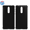 Shock Absorption Soft Full Clear Gel TPU Smartphone Case For Nokia 8