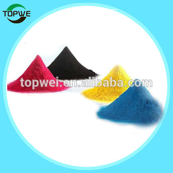 Color toner powders for Xer DC3300/3370