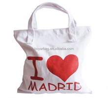 Valentine Tote Bags Gift Shopping Canvas Bag Factory Eco Cotton Bag