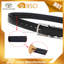 Best Seller Black Anti-Theft Hidden Zip Travel Money Belt Secret Pocket Mens Leather Money Belts
