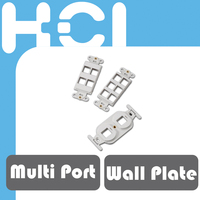 Network Multi Port Decorator Mounting Straps Inserts for Wall Plate