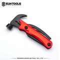 Small-size Outdoor Camping functional aluminum handle Claw hammer